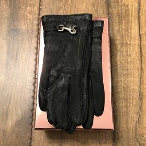 Leather Gloves by Coach